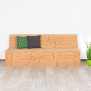 Douglas houten tuinbank Nucla met opbergruimte